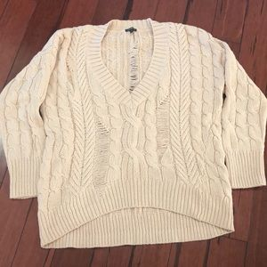 Express V neck sweater.